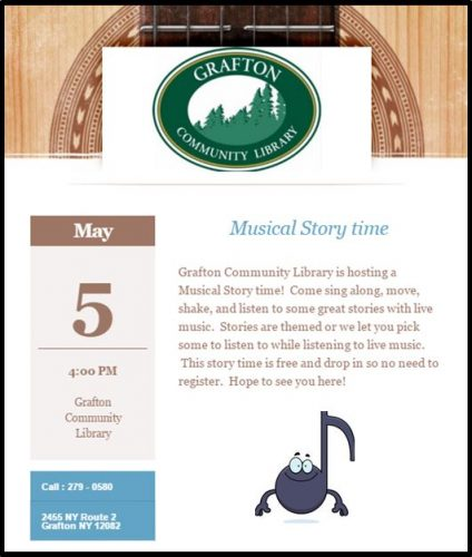musical storytime flyer May 2