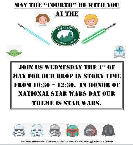 Star wars day flyer